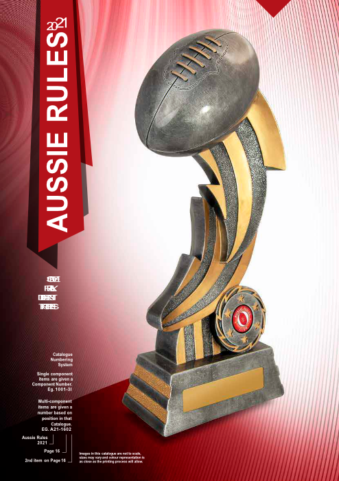 NMTG Aussie Rules Catalogue 2021
