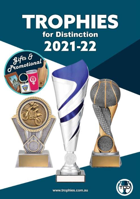 TCD Main trophies catalogue 2021-22